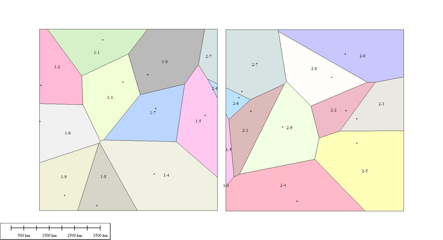 Create Voronoi Diagrams For Separate Polygons Global Mapper Forum Diagram Tutorial Test 785k