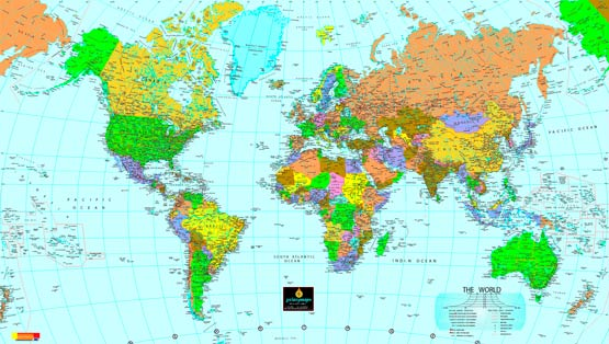 The extent of the world map more than 360 degrees   Global Mapper