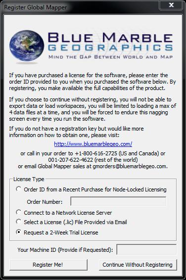 serial key global mapper 15
