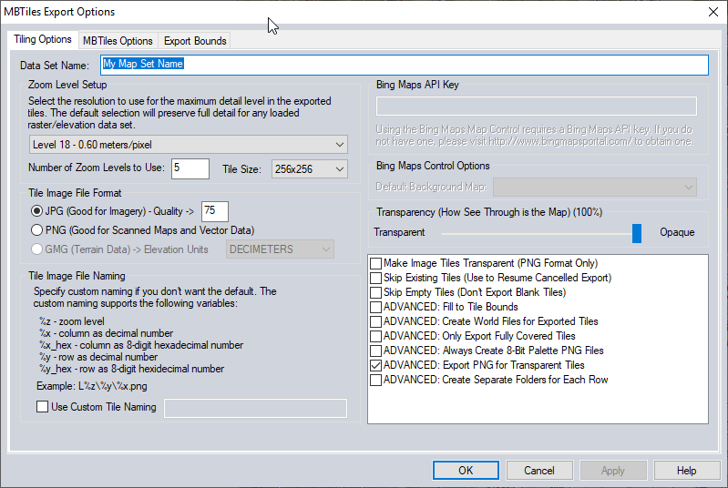 Export layers as files - Global Mapper Forum